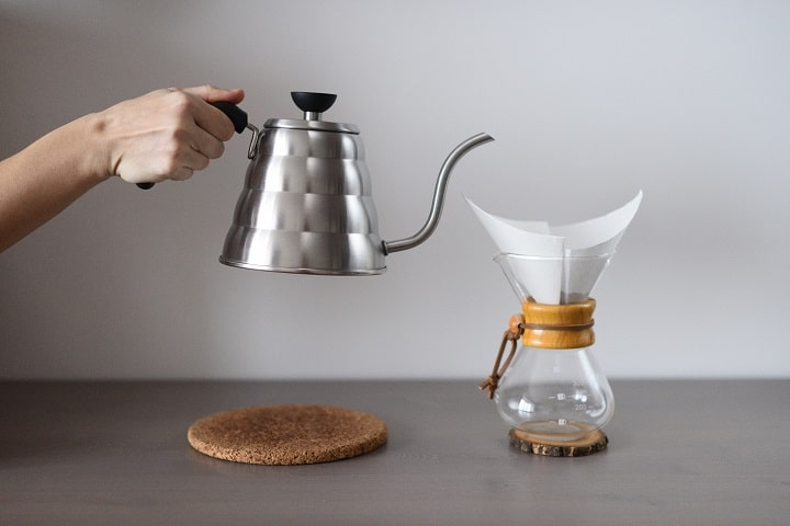 Pour Over Coffee Kettle Design