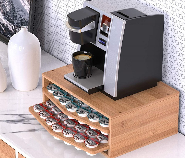 Drawer Storage Coffee Pod Holder