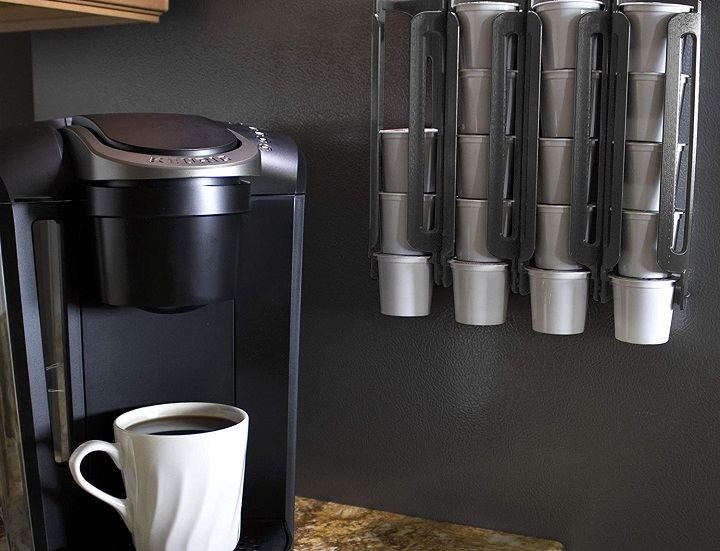Wall Mount Coffee Pod Holder