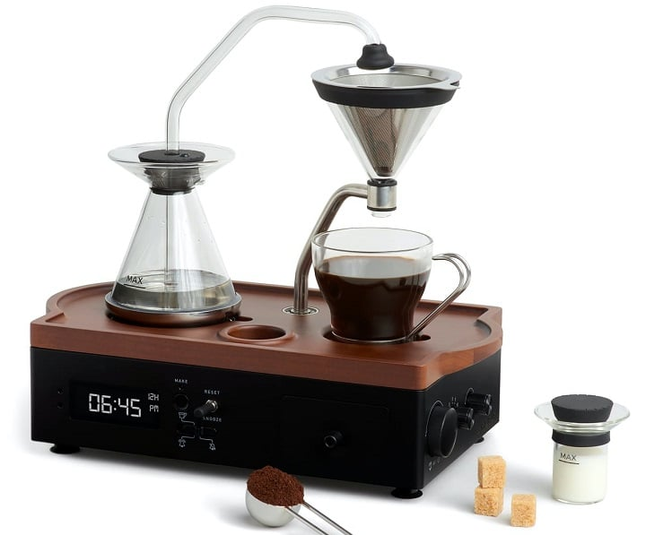 Barisieur Coffee Brewing Alarm Clock – Wake Up to Fresh Coffee