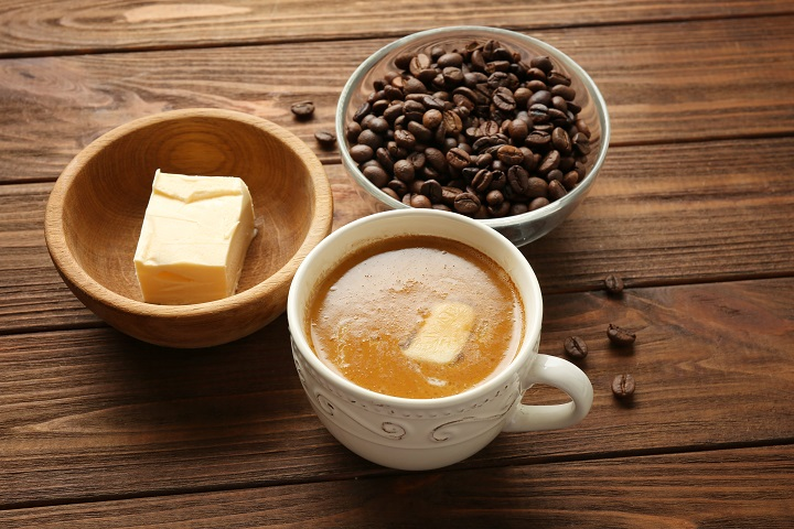 Ingredients for Making Bulletproof Coffee