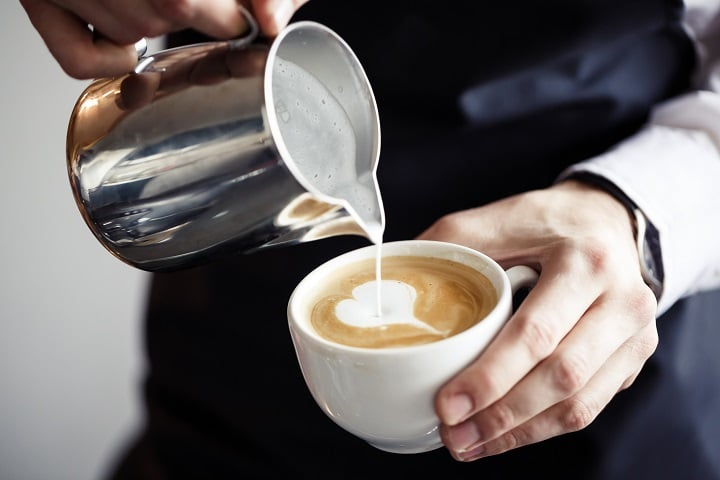 Reasons Why Coffee Makes You Poop - Milk or Cream You Put in the Coffee