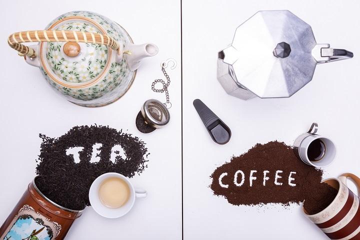 Caffeine in Tea vs Caffeine in Coffee Comparison