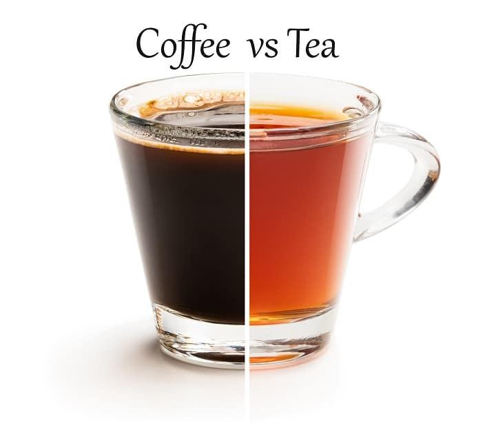 Tea vs Coffee – Which One Provides More Caffeine Rush