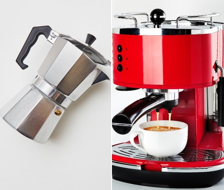 Moka Pot vs Espresso Machine – Brew Splendid Espresso