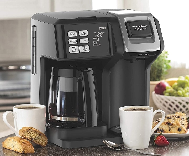 Hamilton Beach Coffee Makers for Finest Two-Way Brewing