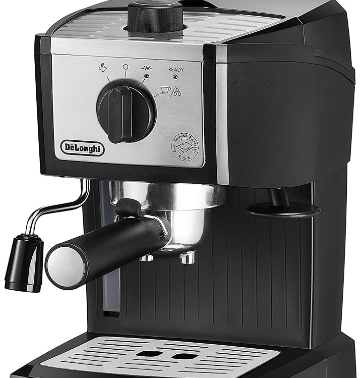 How to Brew Coffee in DeLonghi EC155